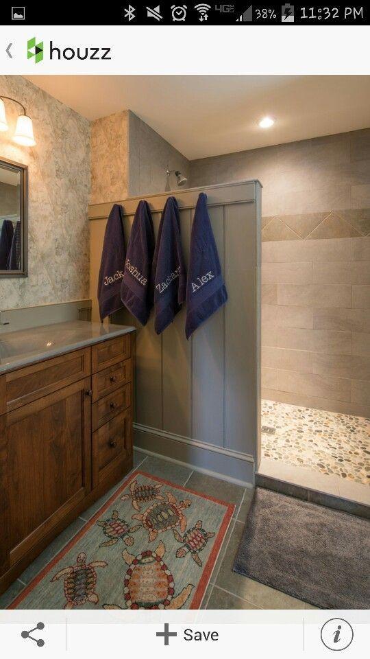 28 Inspirational Walk in Shower Tile Ideas for a Joyful Showering images