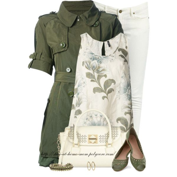 """""""MONCLER Belted Trench Coat"""" by stay-at-home-mom on Polyvore"""