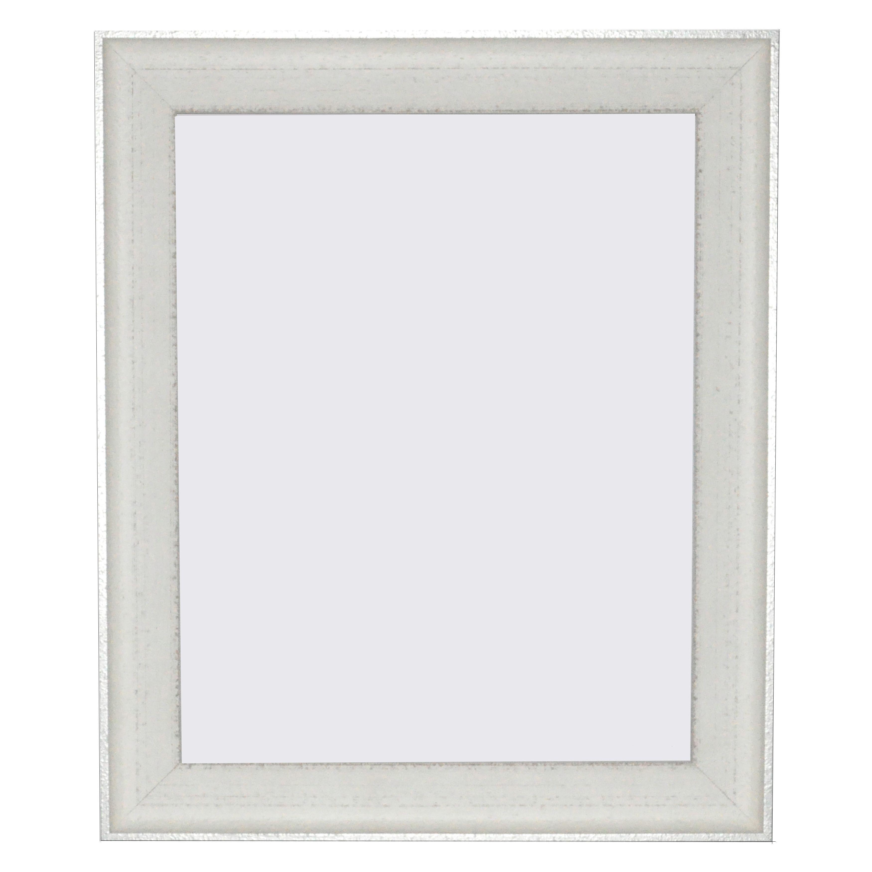 Rayne Mirrors Vintage White Frame Vintage Whitesilver Picture