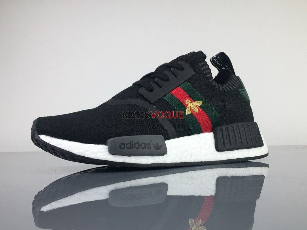the best attitude 42d76 b2407 NMD R1 X GUCCI BEE | Fly Foot Wear in 2019 | Adidas, Adidas ...