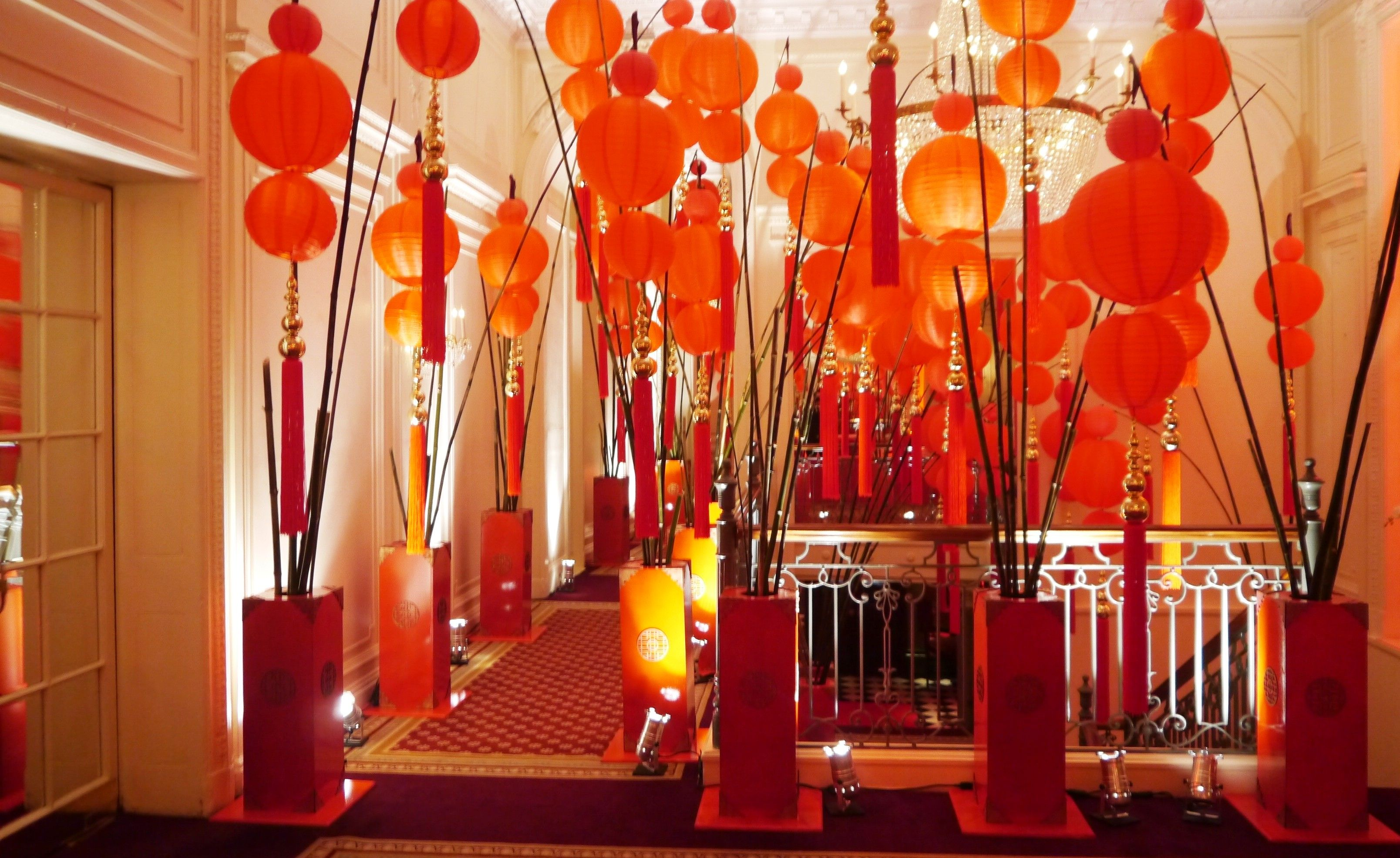 Ballroom Entrance for Chinese Year Party 2013 | Trang trí ...