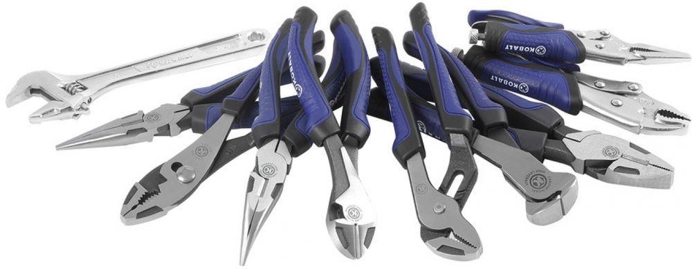 Kobalt Household Home Repair Pliers Tool Set 10 Piece Household Tools Tool Set Tools