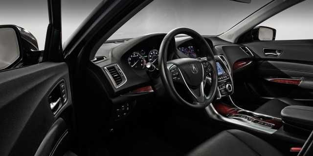 2017 Acura TLX type s coupe Interior