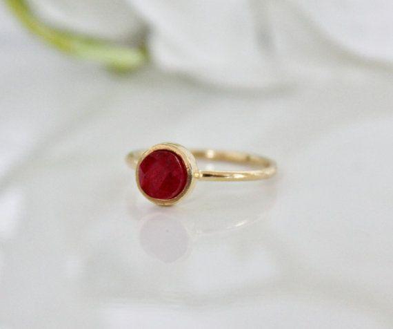 1f0e73aef0e257 Ruby ring,July birthstone ring,gemstone ring,gold ring,delicate ring,small  ring,slim ring