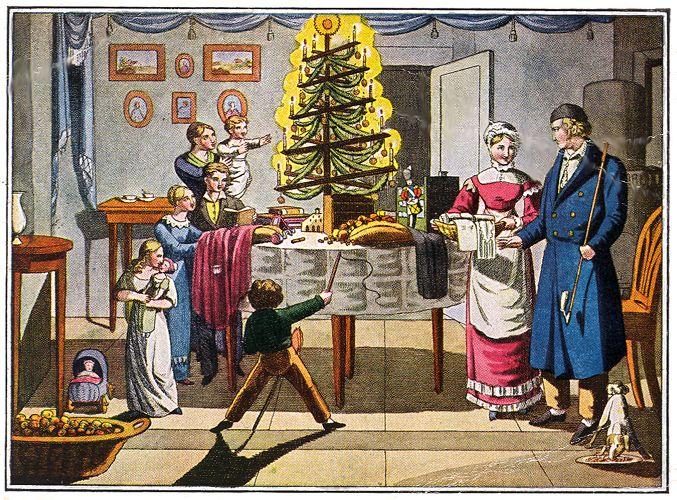 das tannenbaum n rnberg early 1800s christmas cards. Black Bedroom Furniture Sets. Home Design Ideas