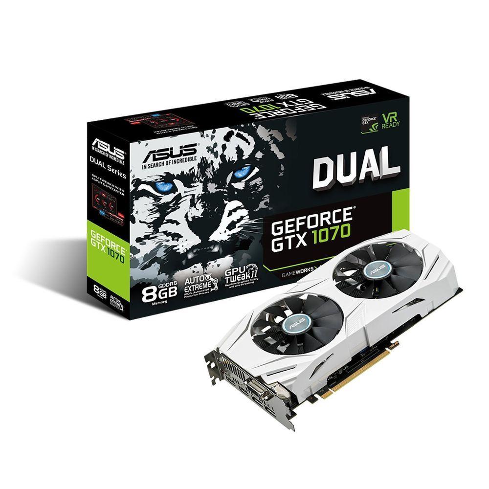 Asus Geforce Gtx 1070 Dual 8g Gddr5 8gb Graphics Card Dual Gtx1070 8g Asus Videokarta Tehnologii Gadzhety
