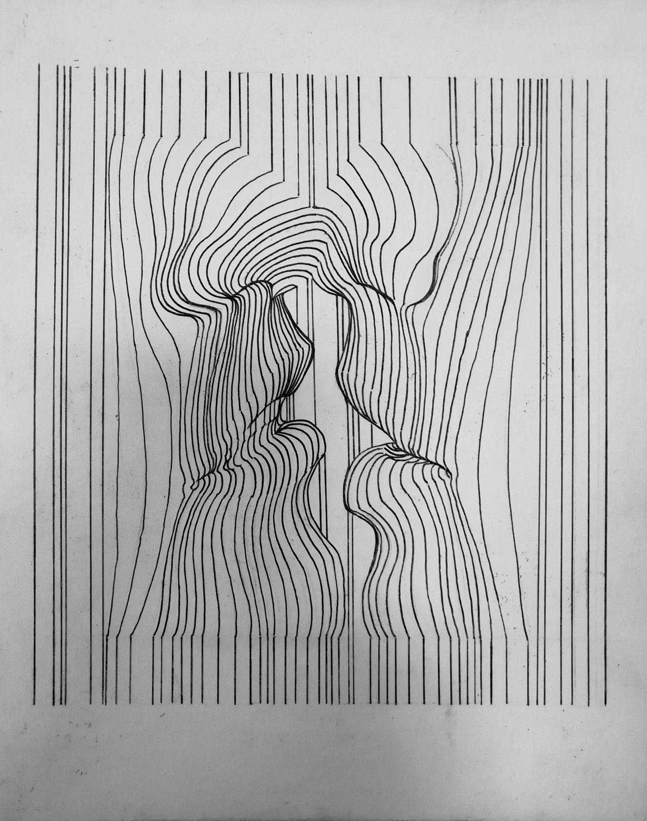 рисунки из линий карандашом толстые и тонкие руководство ржд