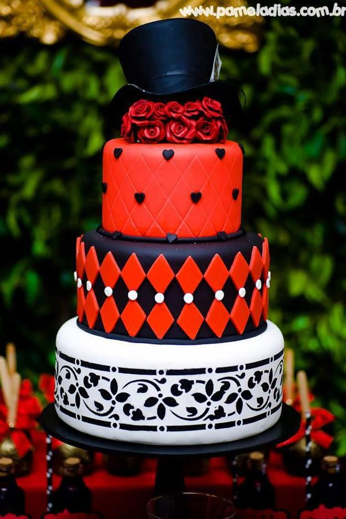 King And Queen Of Hearts Party Planning Ideas Supplies Idea Decor Cake