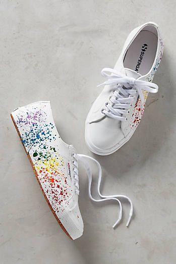 Superga Paint Splatter Sneakers