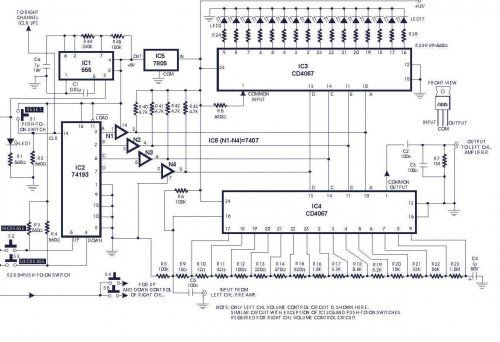 Digital Volume Control   Circuit Diagrams, Schematics, Electronic Projects