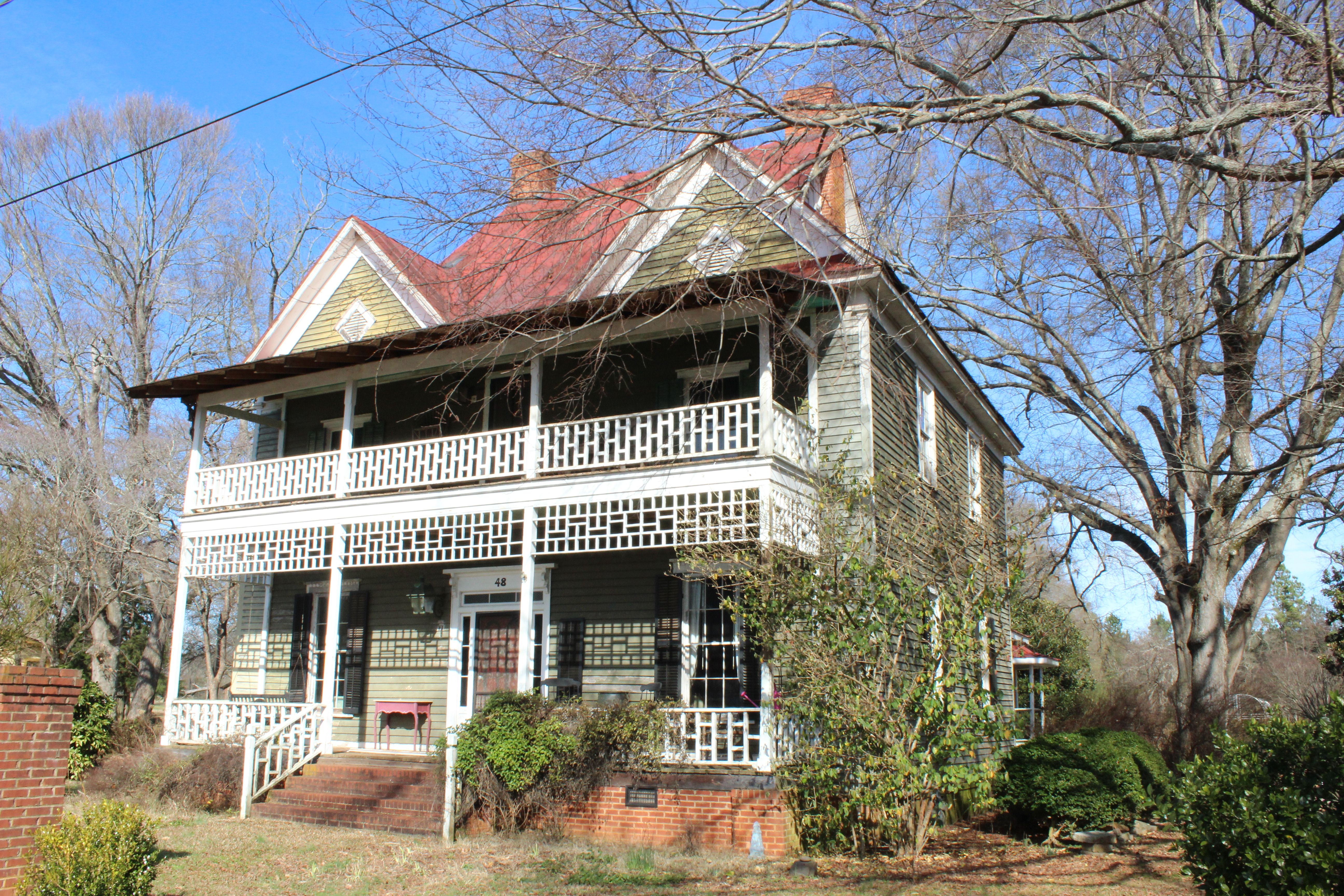 Pretty Old Southern Home In Maysville Oldhouses Architecture