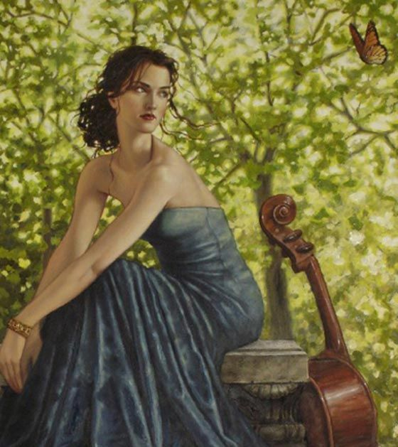 famous artwork | Women Figurative Paintings By Lauri Blank ...