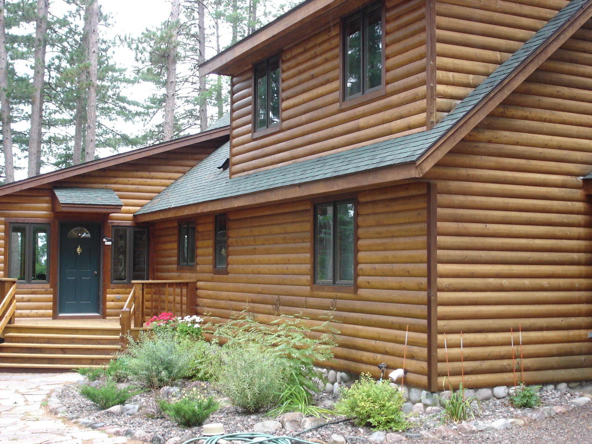 2 8 Tight Knot Cedar Half Log Wood Siding Log Siding Outdoor Decor