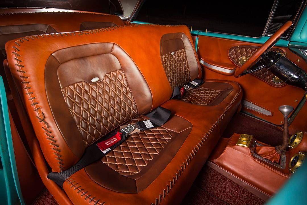 1951 Chevrolet Panel Truck Interior Door Panel Custom Car Interior Truck Interior Chevy Pickup Trucks