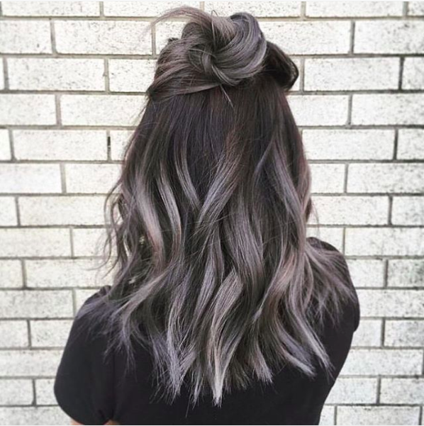 nice Ombre Hair Color Trends - Is The Silver #GrannyHair Style - Stylendesigns.com!