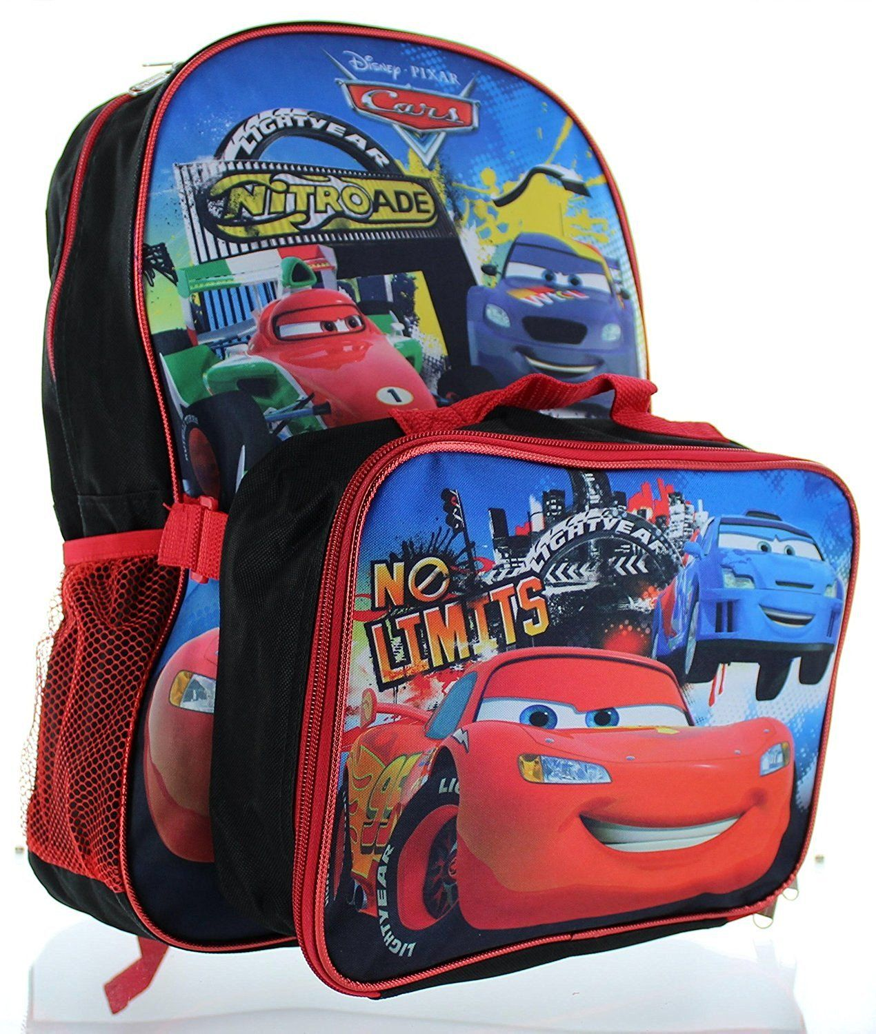 7bc70a4717d1 Disney Pixar Cars 15  Backpack with Lunch Bag -- Want to know more ...