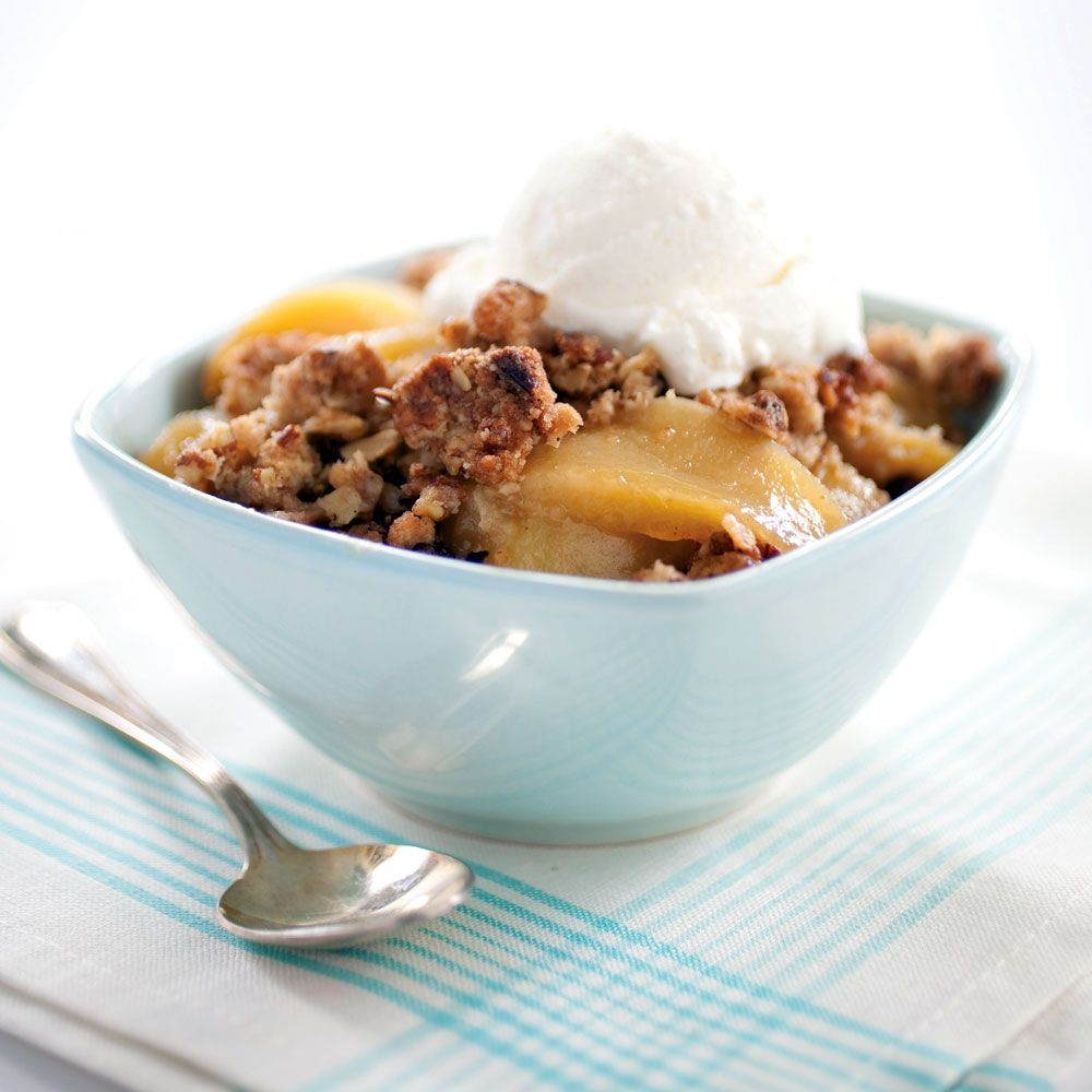 We like Golden Delicious apples for this recipe, but any sweet ...