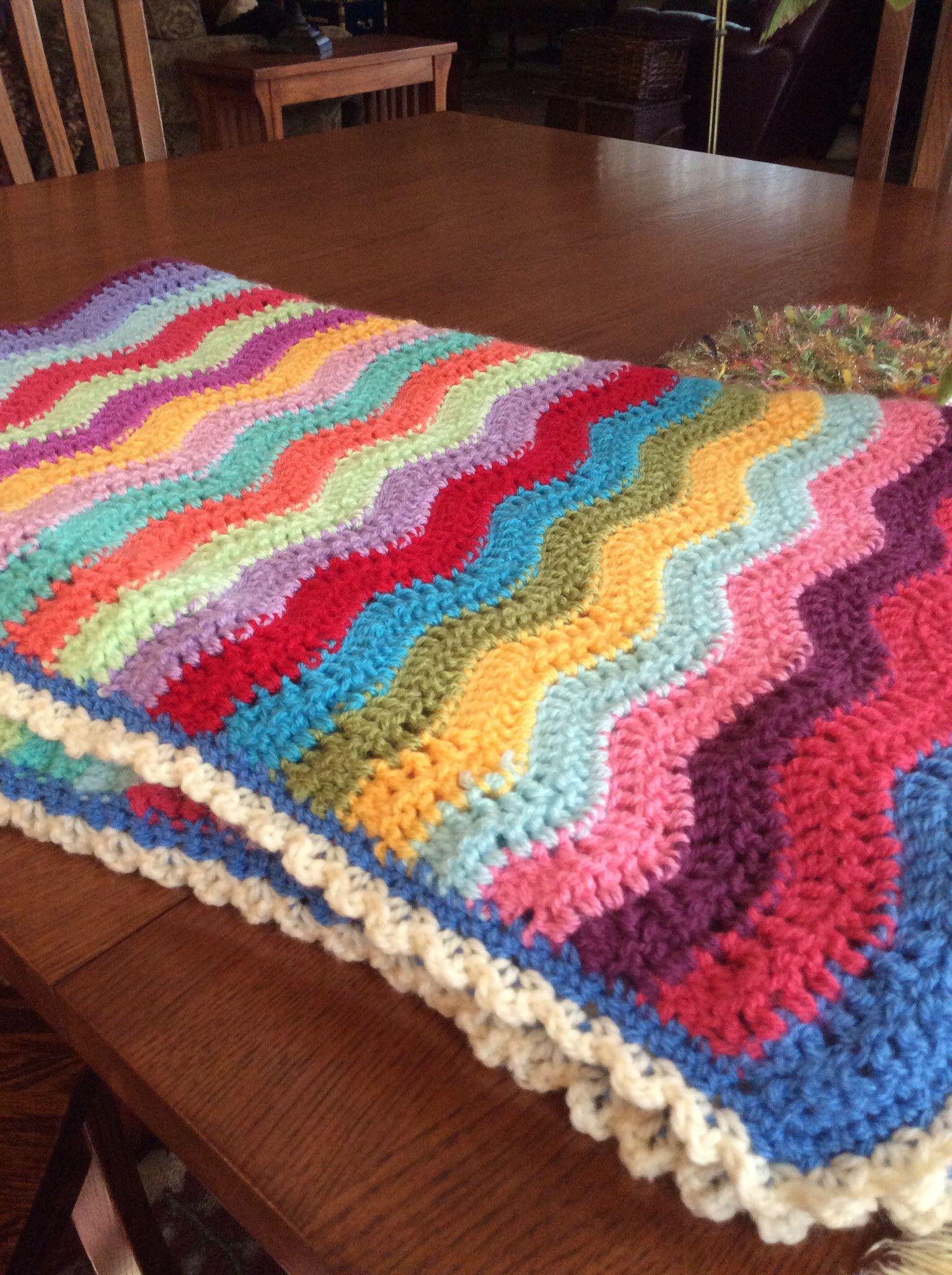 Crochet ripple blanket pattern from attic24 yarn is crochet ripple blanket pattern from attic24 yarn is stylecraft special dk bankloansurffo Images