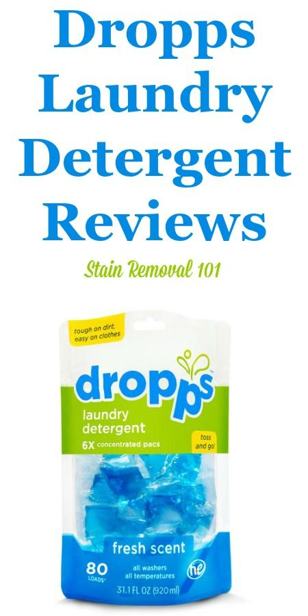 Dropps Laundry Detergent Reviews Ratings And Information Dropps