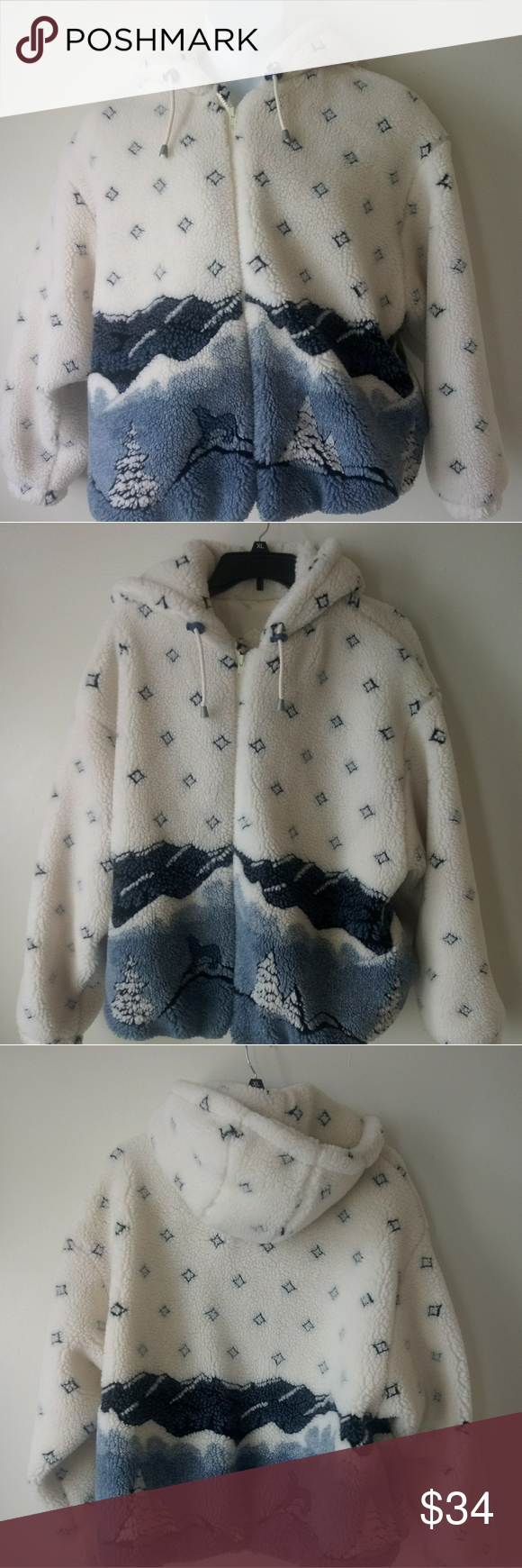 Izzi Outerwear Teddy Women S Hooded Jacket Size L Pre Owned In Good Condition Izzi Hooded Jacket Very Cute Design Womens Hooded Jackets Hooded Jacket Jackets [ 1740 x 580 Pixel ]