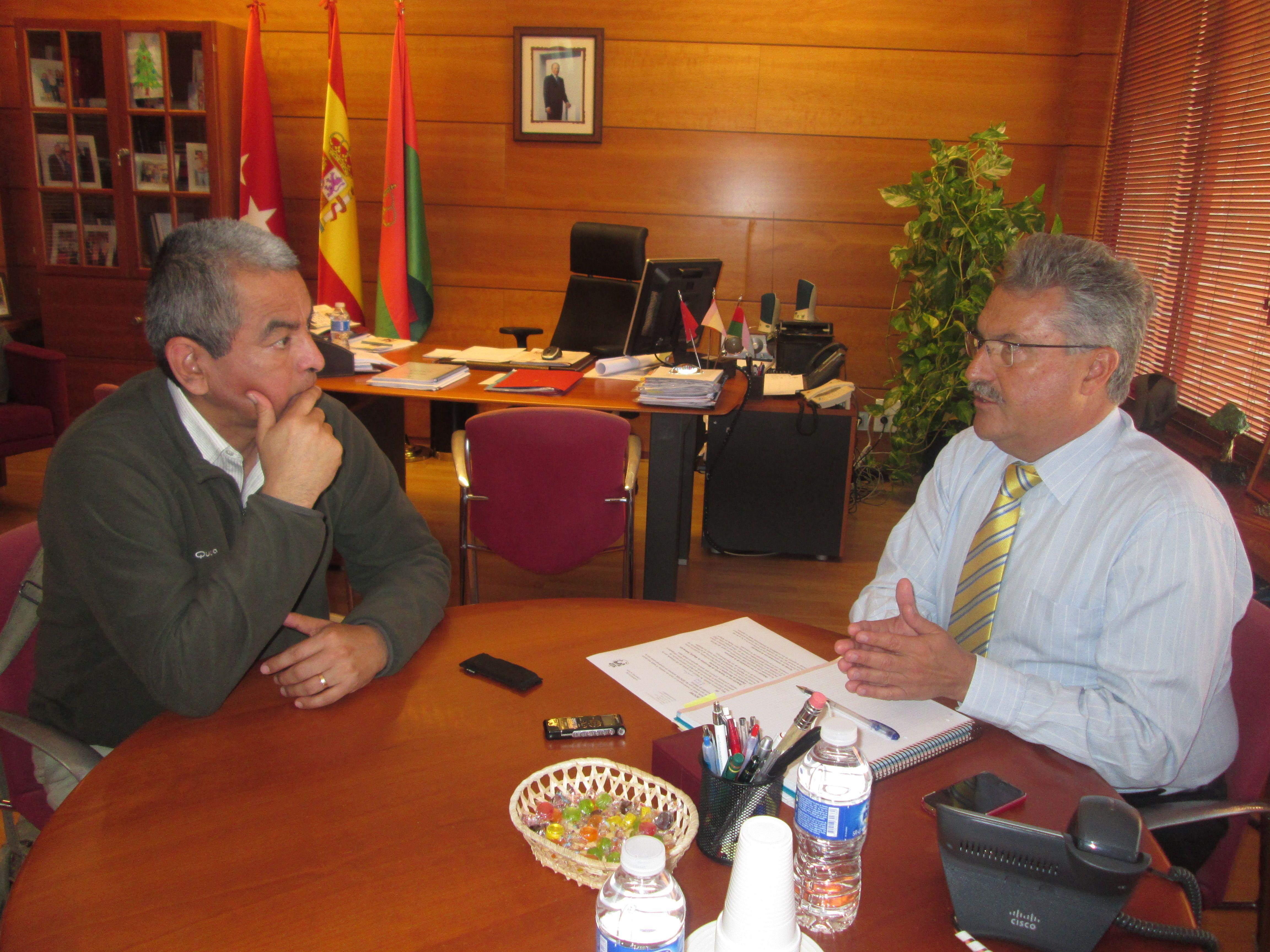 Entrevista con el alcalde de Coslada, Raúl López Vaquero.