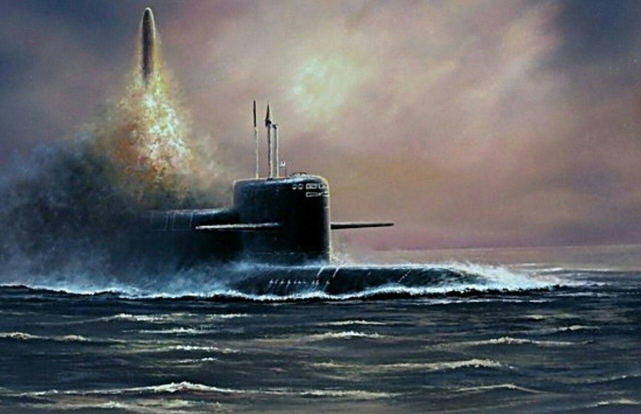 Святого, открытка 23 февраля с подводной лодкой