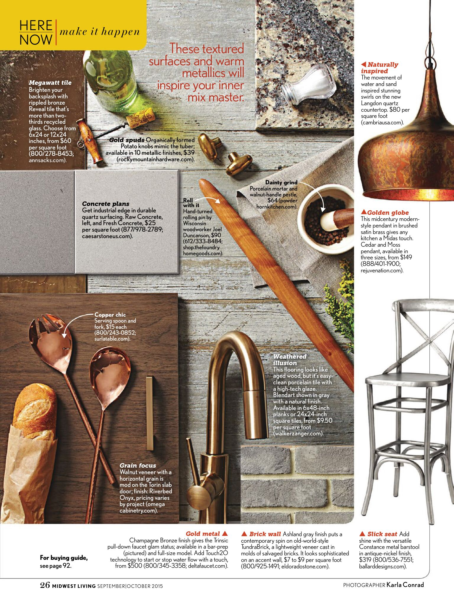 page rustic elements. Unique Elements Love This Blend Of Warm Industrial  Rustic Elements For Kitchen Design   Midwest Living SeptOct 2015 Throughout Page E