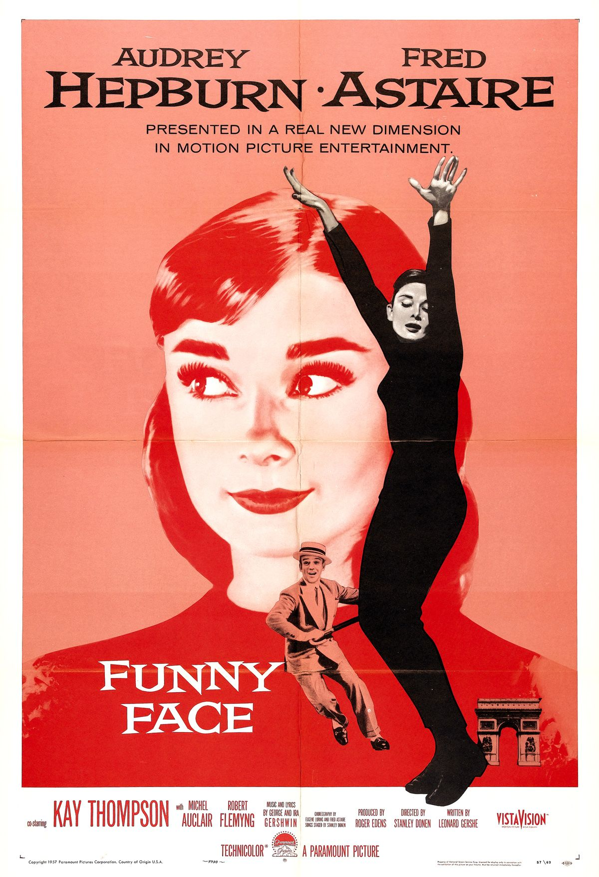 Funny Face (1-Sheet movie poster) via TCM