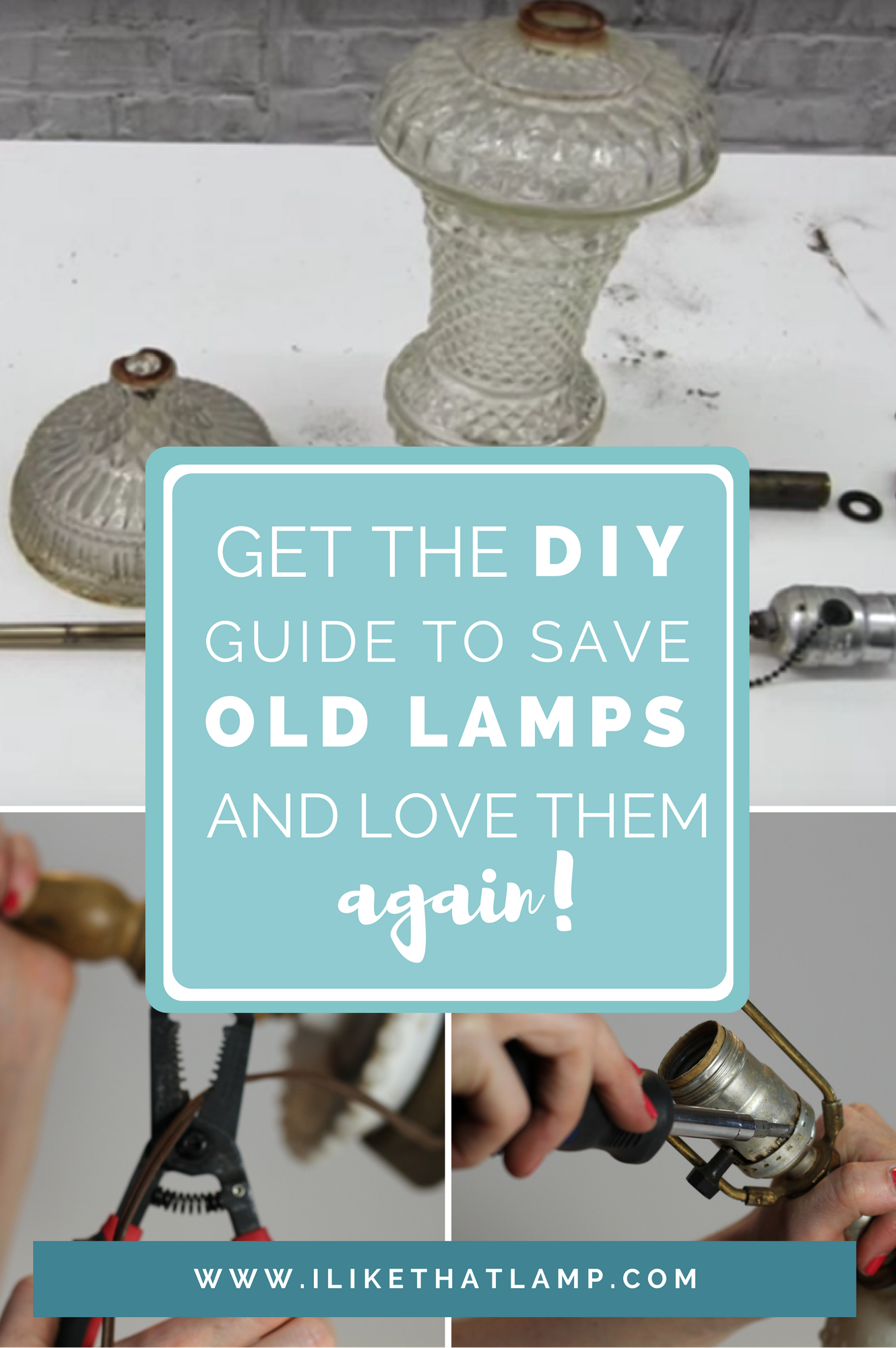 Comprehensive Diy E Book Old Lamps New Life Tutorials By I How To Rewire An Lamp This Step Guide Will Make It Easy Give Your A Complete Makeover Without Breaking The Bank Or Wasting Hours Trying Figure Out