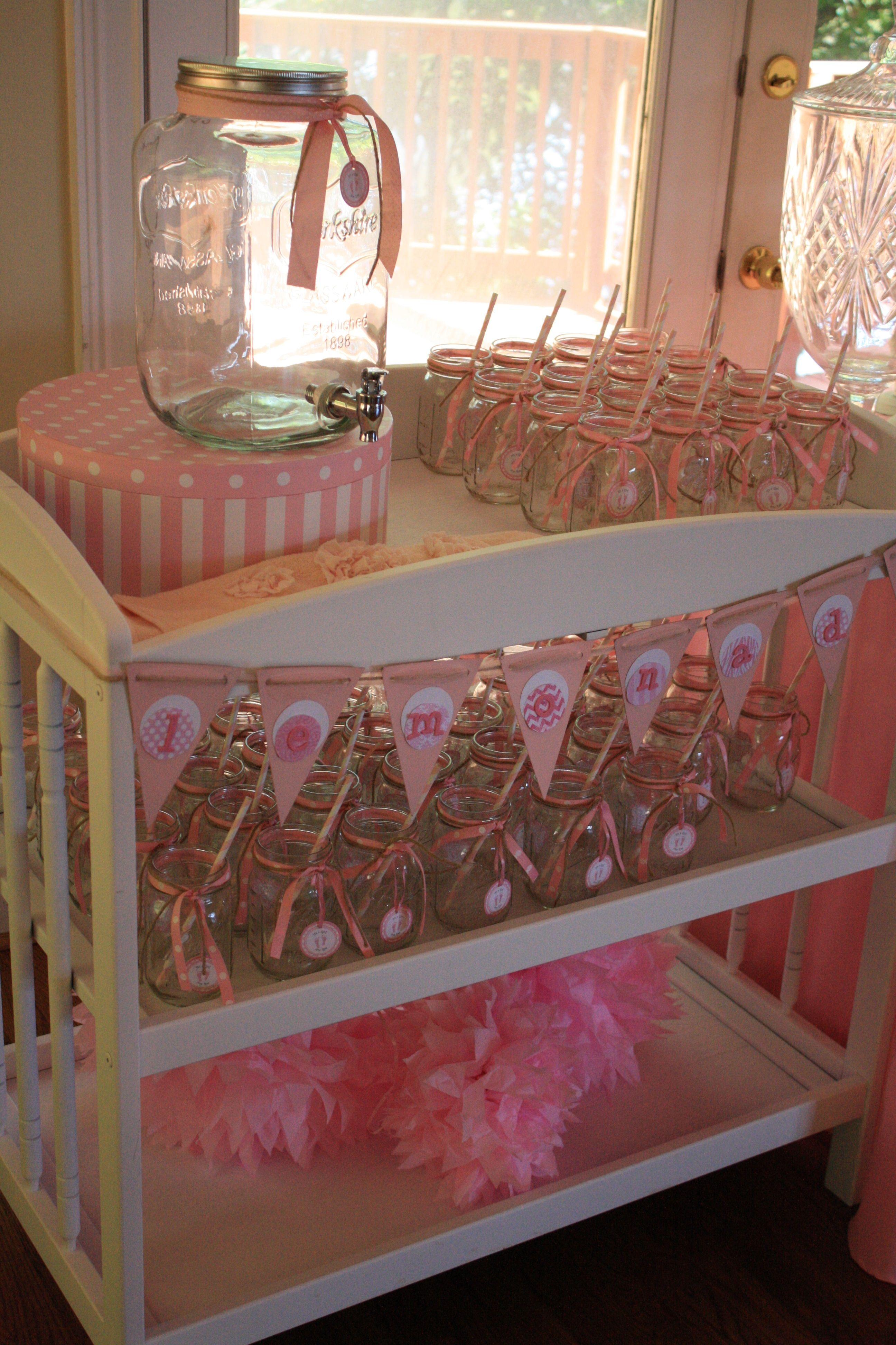 Baby Shower Lemonade Stand Baby shower fun, Cute baby