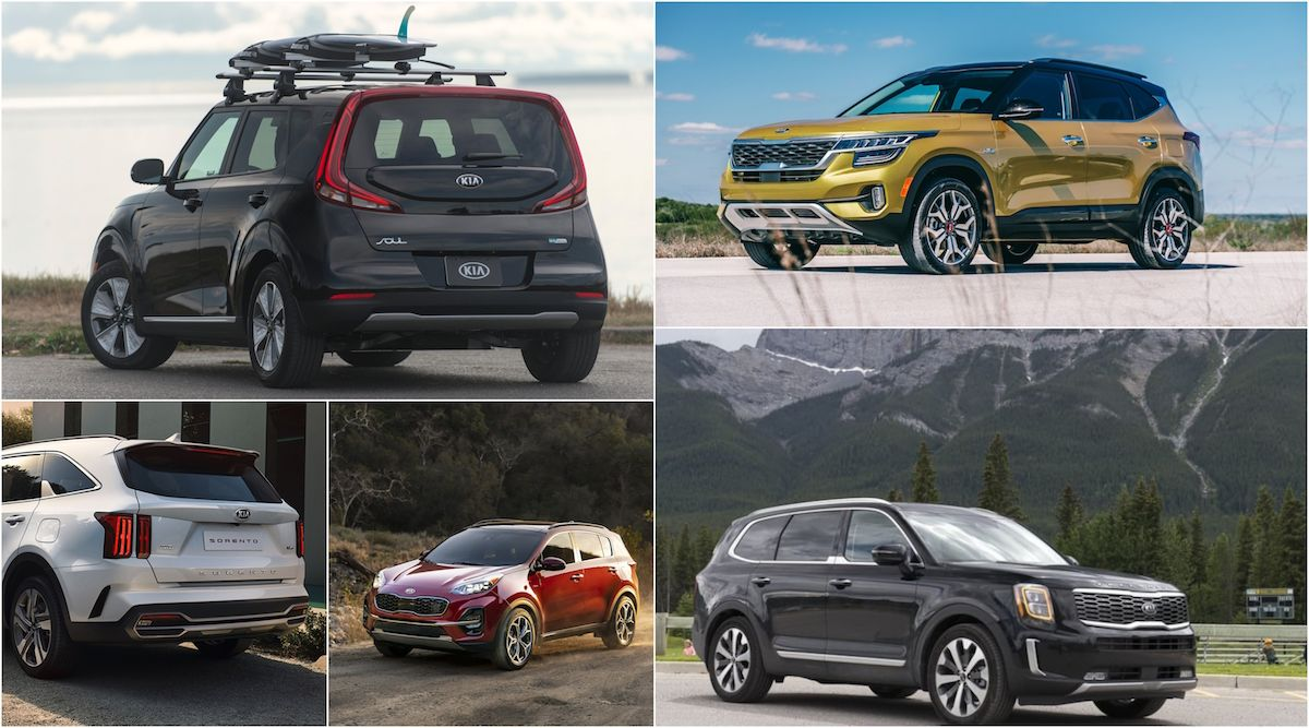 Kia 2020 Suv Lineup Smallest To Biggest Here They Are In 2020 Suv Kia Large Suv