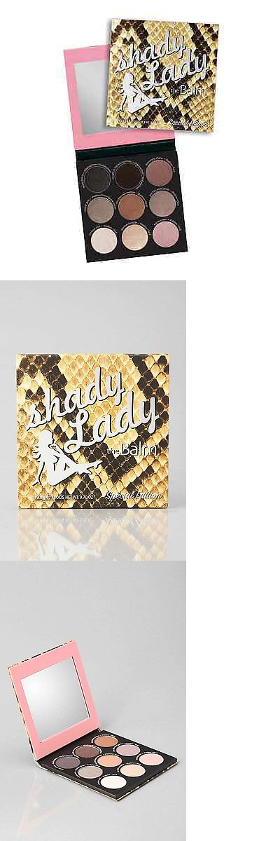 Eye Shadow Liner Combination: The Balm Shady Lady Eye Shadow Palette Special Edition BUY IT NOW ONLY: $39.5