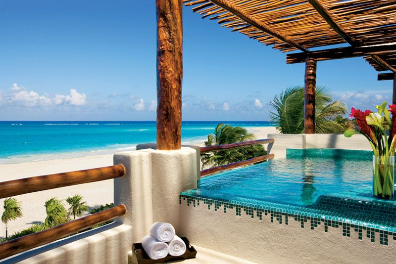 Celebrate Saying I Do In The Preferred Club Honeymoon Suite At Secrets Maroma Beach