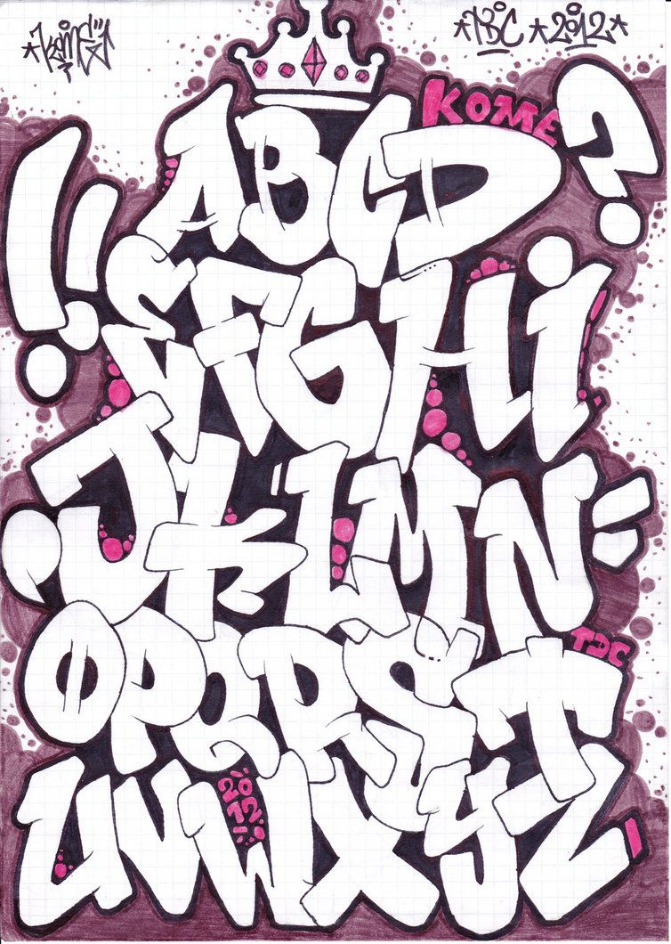 Old school graffiti fonts old school graffiti font 3d images for graffiti fonts alphabet