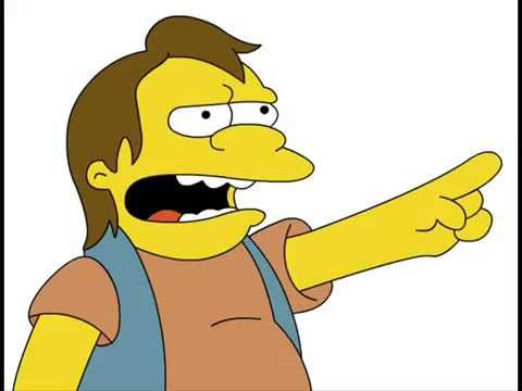 Ha Ha Nelson From Simpsons Family Funny Meme Pictures Nelson Muntz Best Funny Pictures