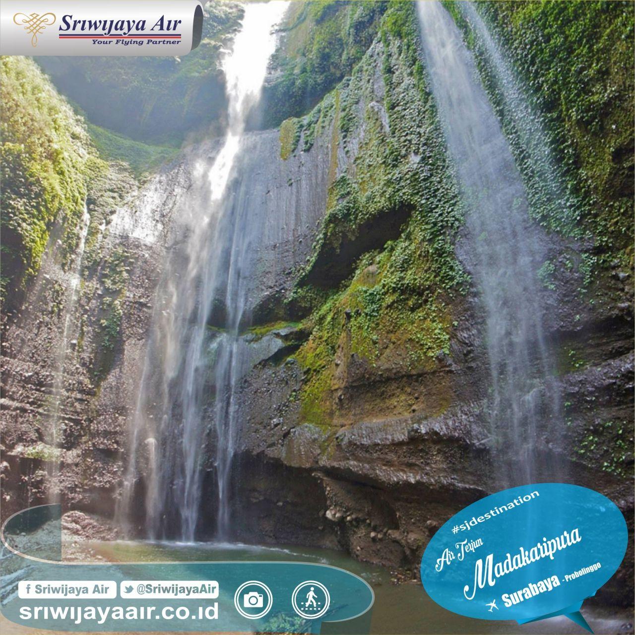 Saat Berkunjung Ke Gunung Bromo Air Terjun Madakaripura Menjadi Lokasi Yang Anda Patut Kunjungi Merupakan Air Terjun T Air Terjun Madakaripura Air Terjun Air