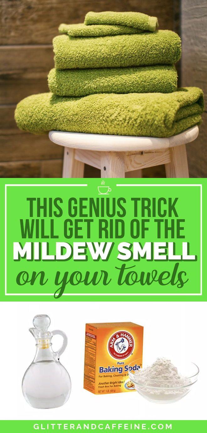 How To Get Rid Of Mildew Odor In Towels
