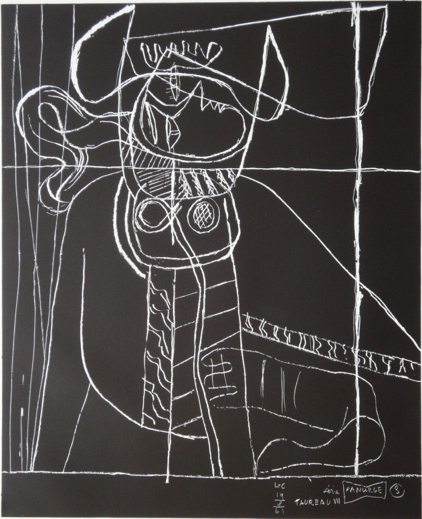 Le Corbusier - series Panurge # 6