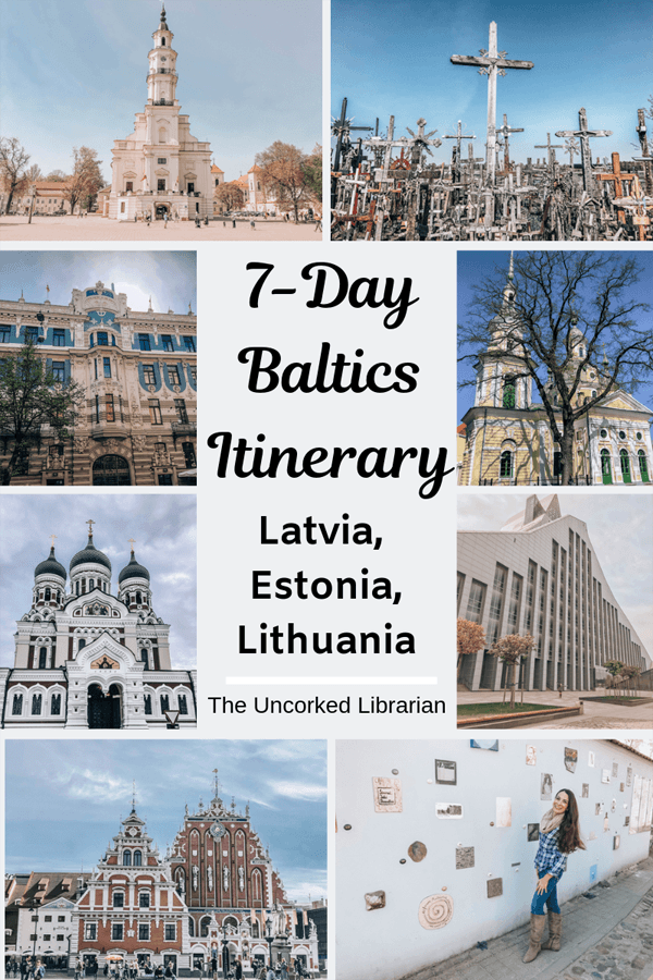 Baltic Travel: One Week Baltics Itinerary | The Uncorked Librarian #baltic
