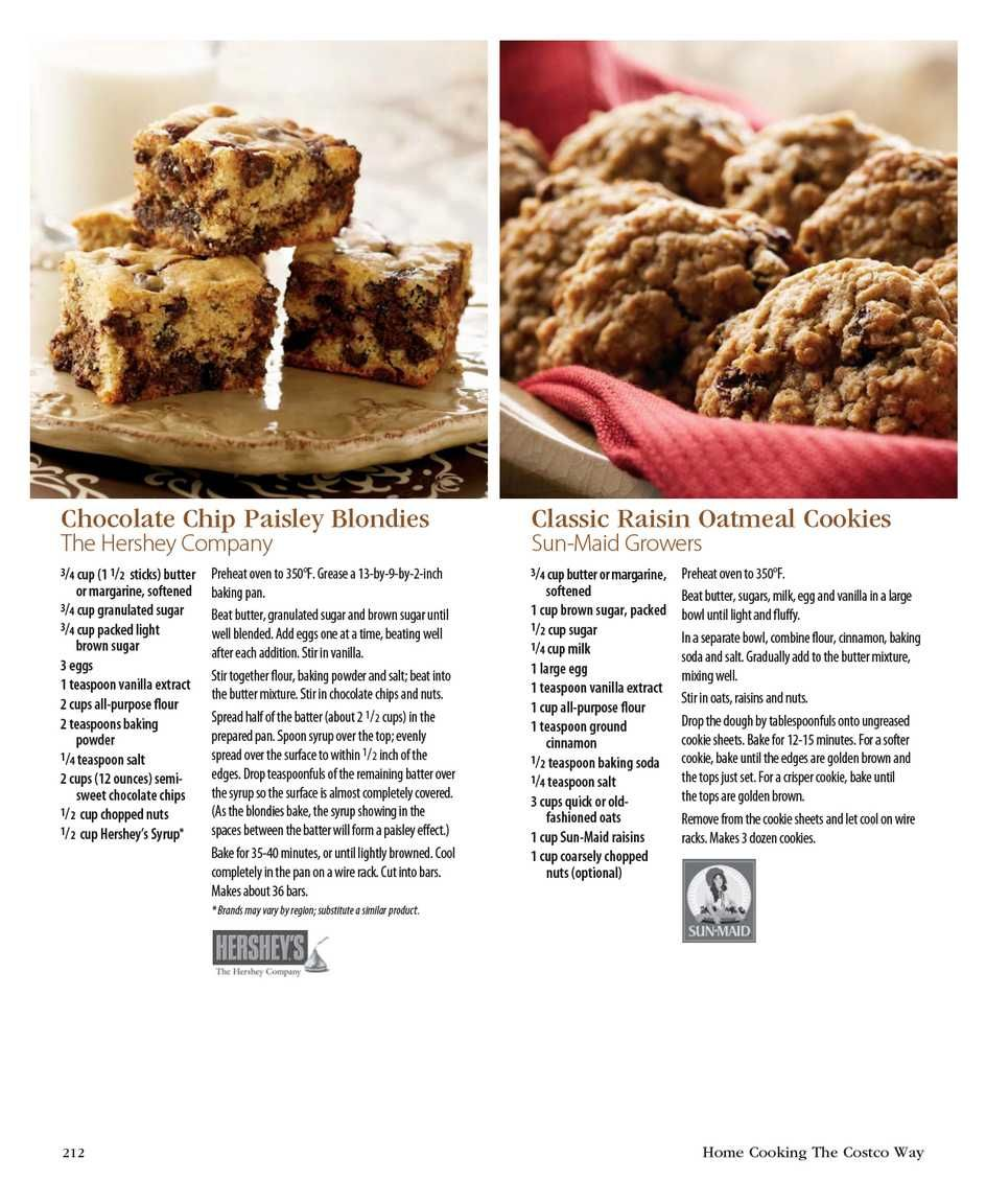 Costco Connection - Home Cooking The Costco Way - Page 212 | Cookies ...
