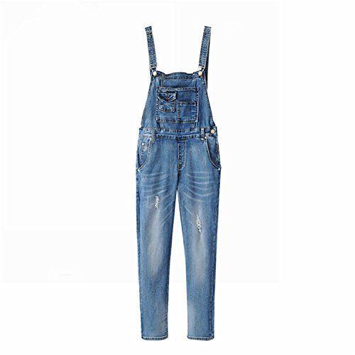 00bbfdf80e1 Woodin Denim Jumpsuit 2017 Womens Jeans Jumpsuit Girls Casual Denim  Overalls Skinny Women