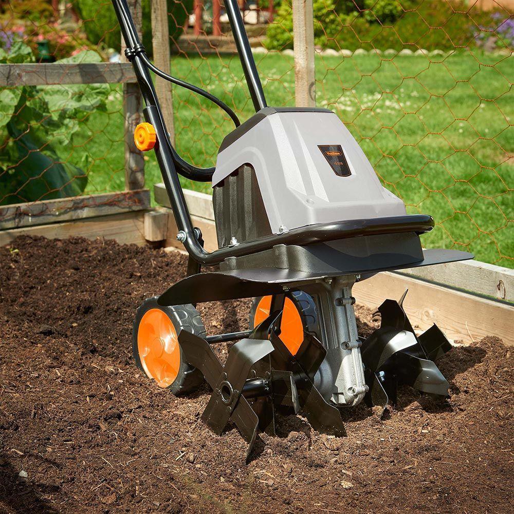 1400w Electronic Tiller Home Vegetable Garden