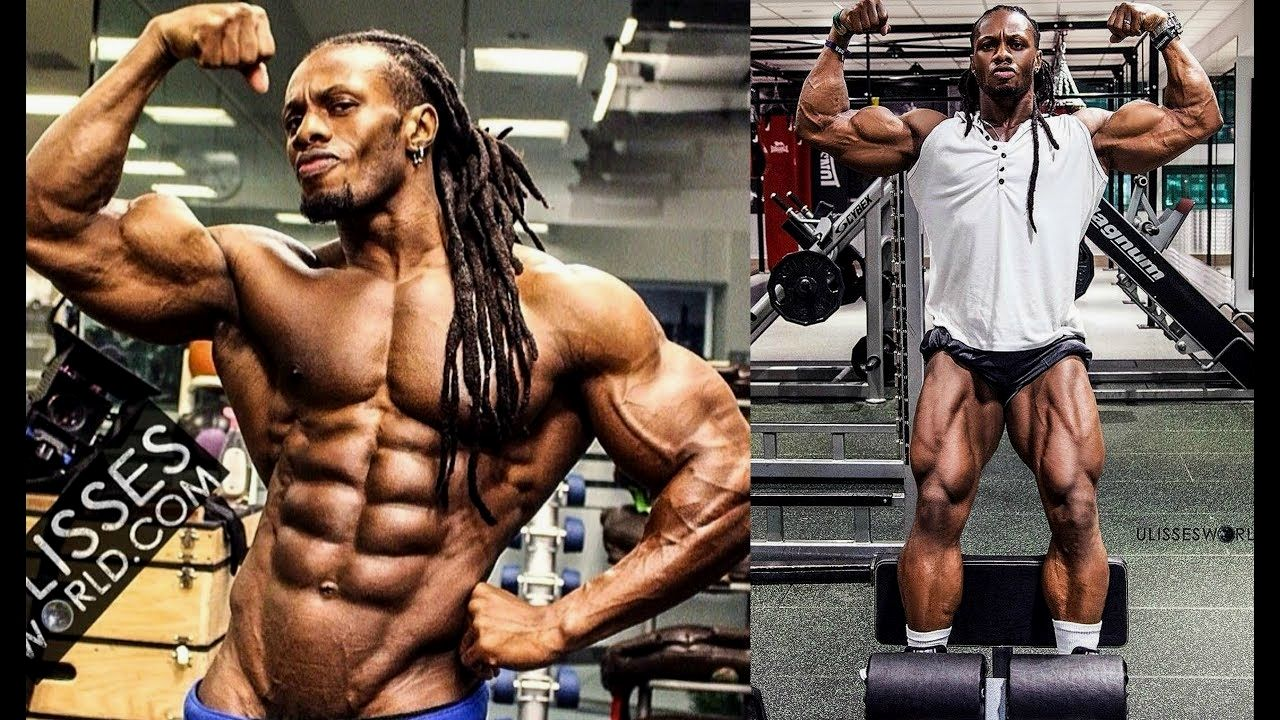 BEAST MODE In The Gym -The Monster Ulisses Jr | Workout