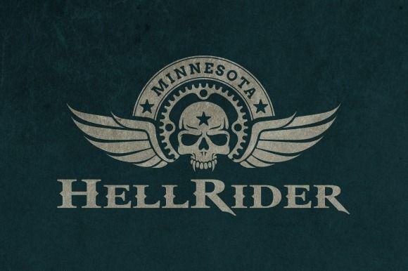 Motorcycle club logo calaveras motocicleta y garajes for Logos de garajes
