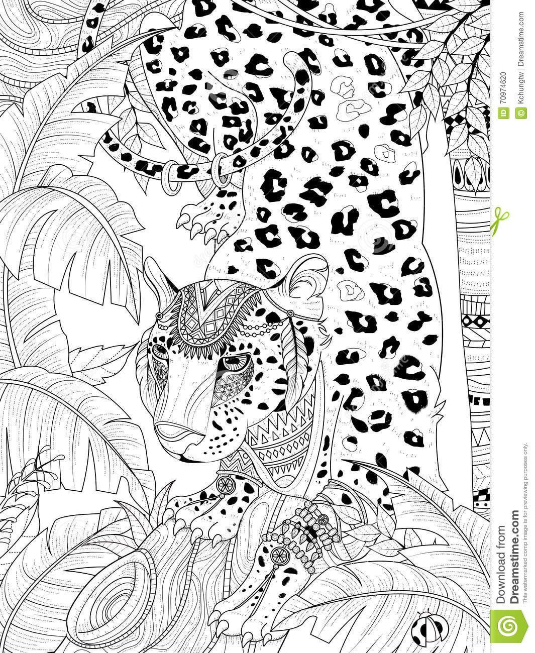 Welcome To Dover Publications Animal Coloring Pages Coloring Pages Jungle Coloring Pages
