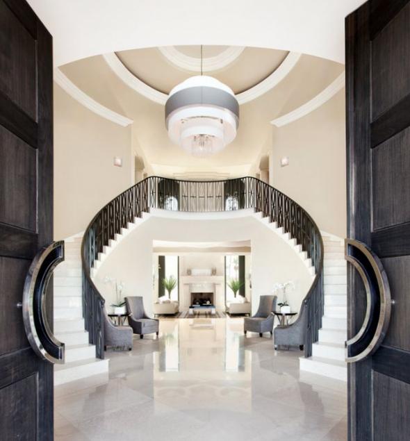escalier-double entrée