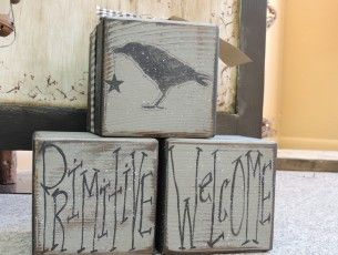 Primitive Crow Blocks