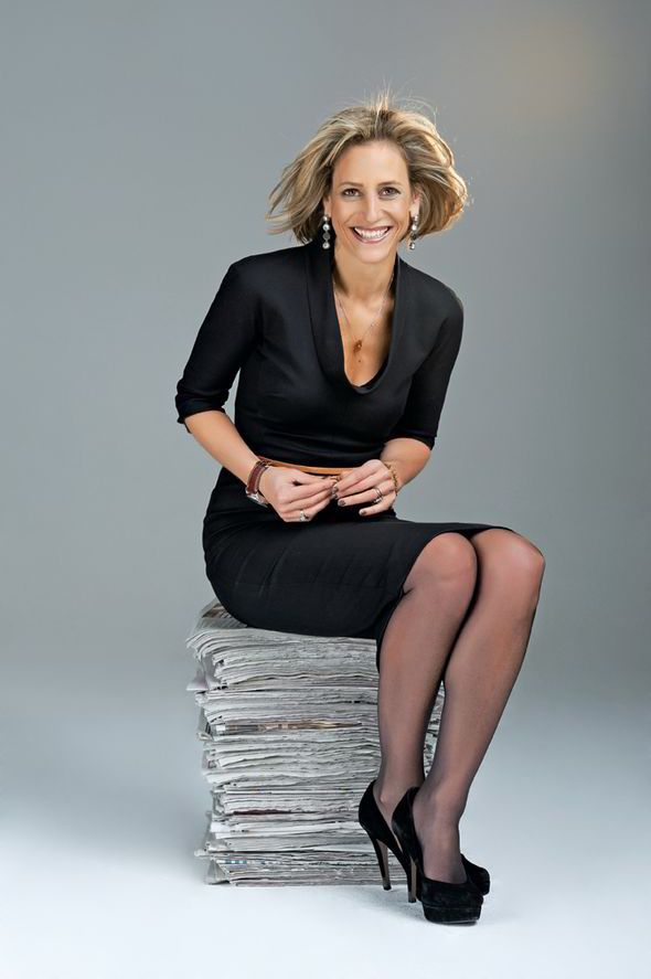 Emily Maitlis Upskirt In Car Paparazzi Pictures And Looking Hot On Televison