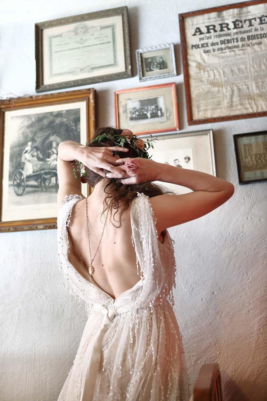 French boho chic a bijou bride in copper u blush boho wedding