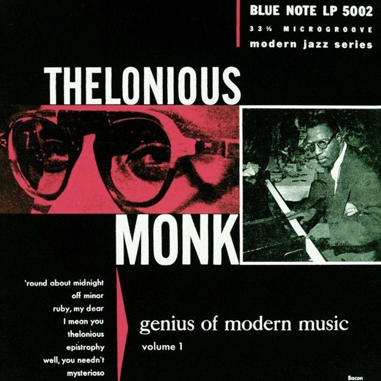 Thelonious Monk Genius Of Modern Music Volume 1 On 10 Vinyl Modern Music Thelonious Monk Album Cover Art